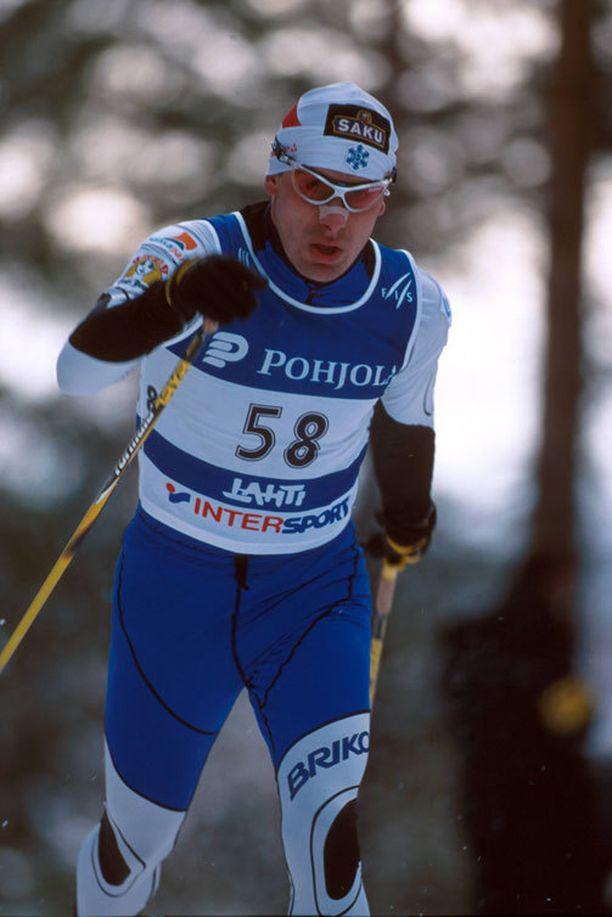 Jaak Mae edusti Viroa myös edellisissä Lahden MM-kisoissa 2001.