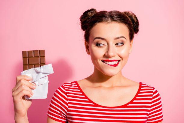 Kuinka intohimoisesti suhtaudut suklaaseen?