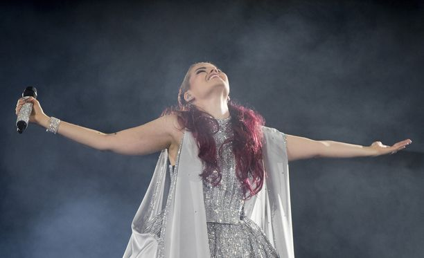 Saara Aallon unelma toteutui, kun hän pääsi Euroviisujen finaaliin.