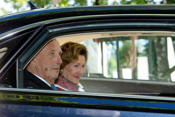 Harald ja Sonja ovat molemmat karanteenissa.