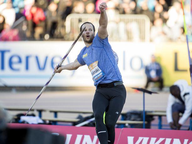Tero Pitkämäki ei hae paikkaa MM-kisoihin.