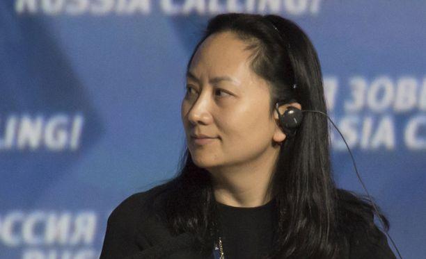Meng Wanzhoun Venäjällä vuonna 2014.