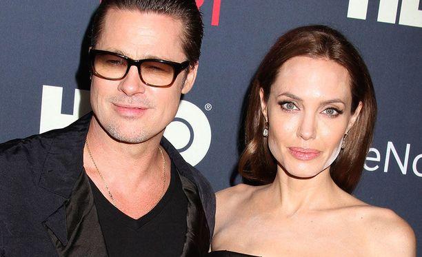 Brad Pitt ja Angelina Jolie olivat yhdessä useita vuosia.