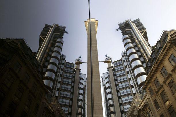 Lloyd'sin pääkonttorin Lontoossa on suunnitellut arkkitehti Richard Rogers.
