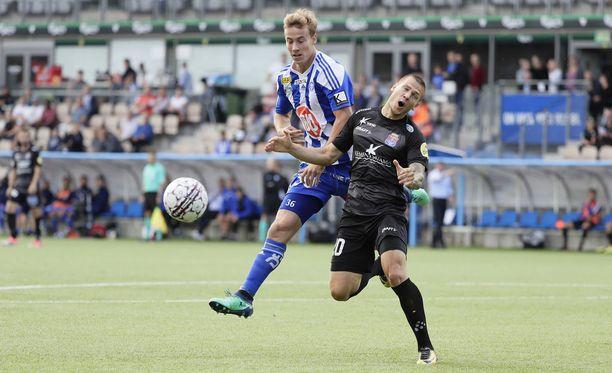 PS Kemi kesti HJK:n vauhdissa sunnuntain päiväpelissä.