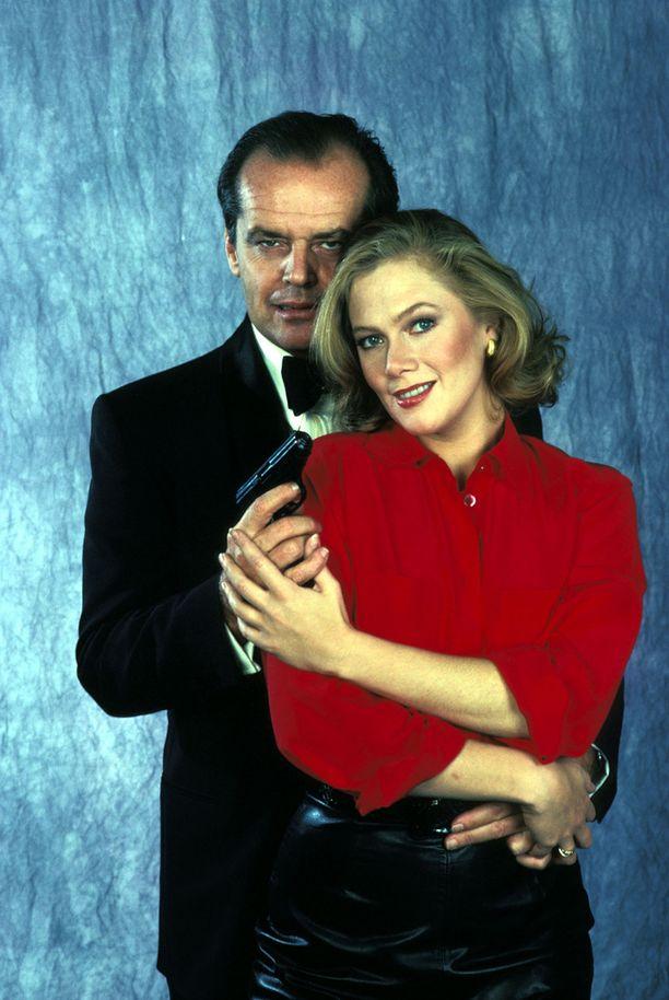 Tällaisina me muistamme Jack Nicholsonin ja Kathleen Turnerin 80-luvulta.