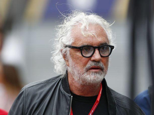 Flavio Briatore on tällä hetkellä sairaalahoidossa Milanossa.