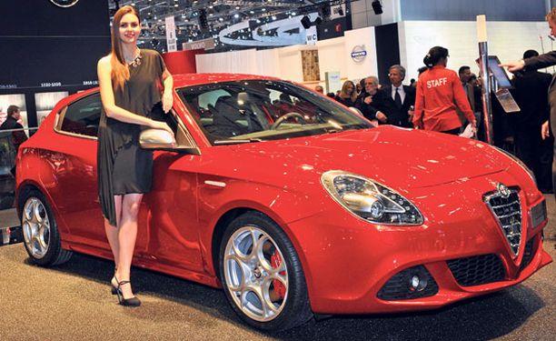 Alfa Romeon osastolta löytyvät usein tunteen paloa nostattavat uutuudet. Giulietta oli sytykkeenä tänä vuonna.