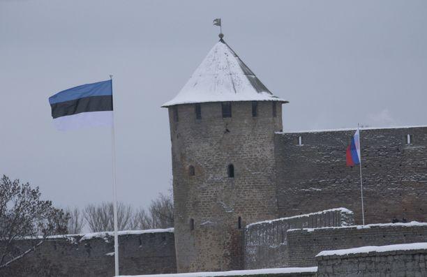 Lumiaalto ei yltänyt aivan Suomeen asti, vaan jäi Viroon.