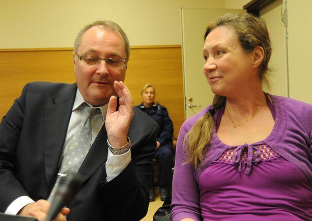 Anneli Auer vakuutti edelleen syyttömyyttään oikeudelle keskiviikkona.