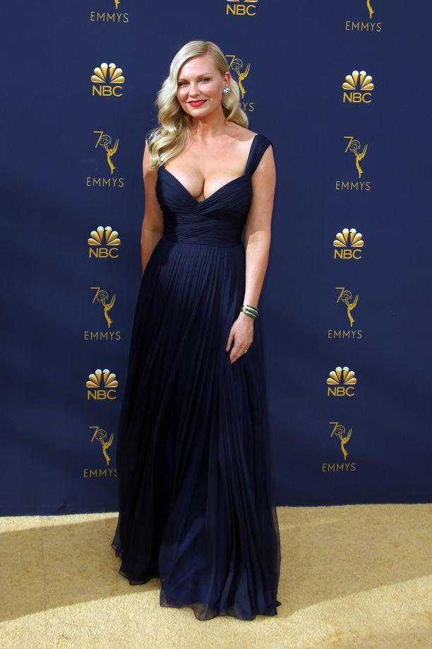 Kirsten Dunst oli itsekin Emmy-ehdokkaana Fargon naispääroolista vuonna 2016.