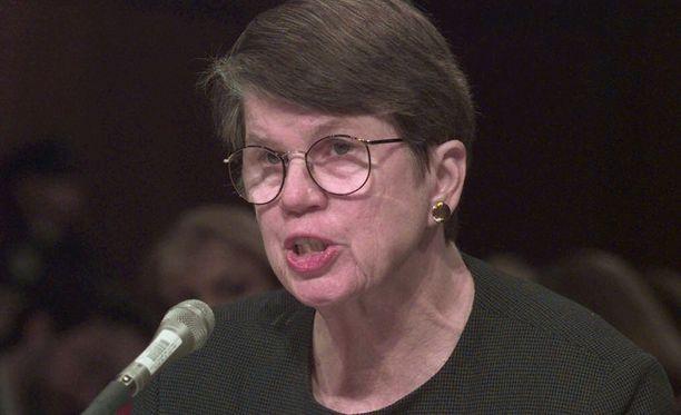 Janet Reno toimi Yhdysvaltain oikeusministerinä Bill Clintonin hallituksessa.