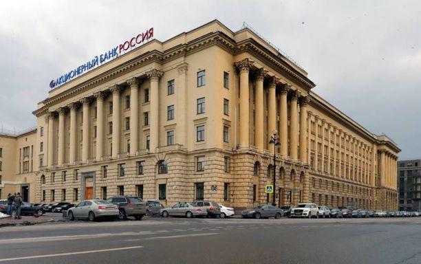 Monet oligarkit ovat olleet mukana rahoittamassa Rossiya-pankin toimintaa.