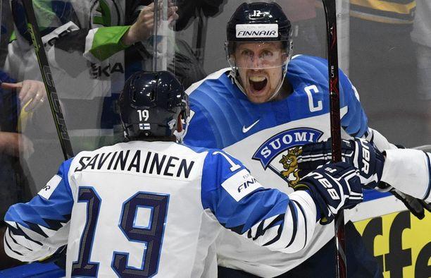 Veli-Matti Savinainen ja Marko Anttila olivat Leijonien sankareita 2019 Bratislavassa. Nyt kaksikko on Iltalehden tietojen mukaan lähdössä taas MM-projektiin.