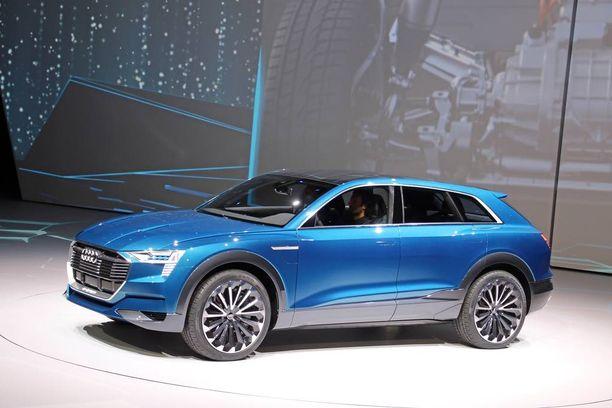 """Audi esitteli konseptiversion tulevasta """"Q6"""" -mallistaan viime syksynä."""
