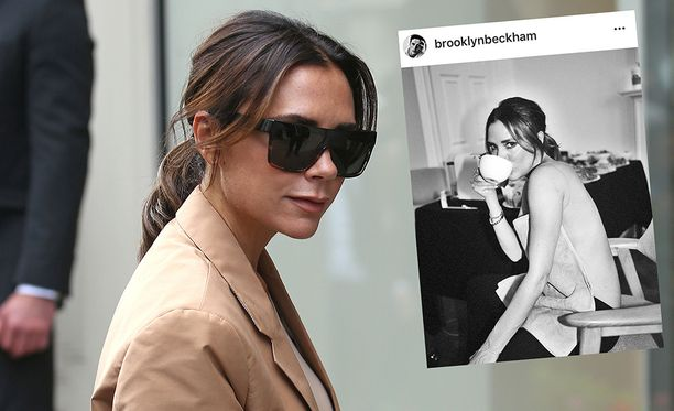 Victoria Beckhaminen pojan ottamasta kuvasta syntyi somekohu.