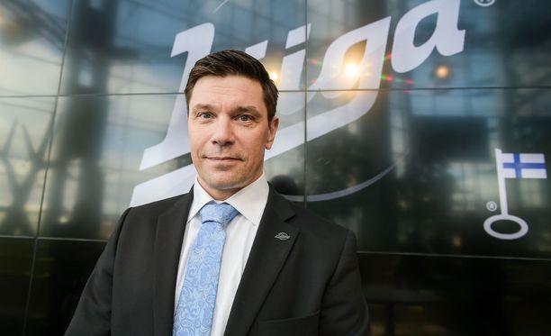Riku Kallioniemi on SM-liigan uusi toimitusjohtaja.