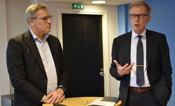 Mikael Pentikäinen ja Jyrki Mäkynen pitävät realistisena, että yrittäjien ehdottama paketti voitaisiin viedä ainakin osin läpi vielä tällä hallituskaudella.