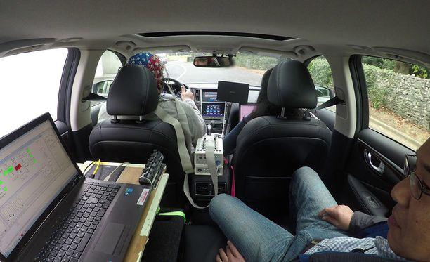 Brain-to-Vehicle-teknologiaa on testattu jo käytännössä.