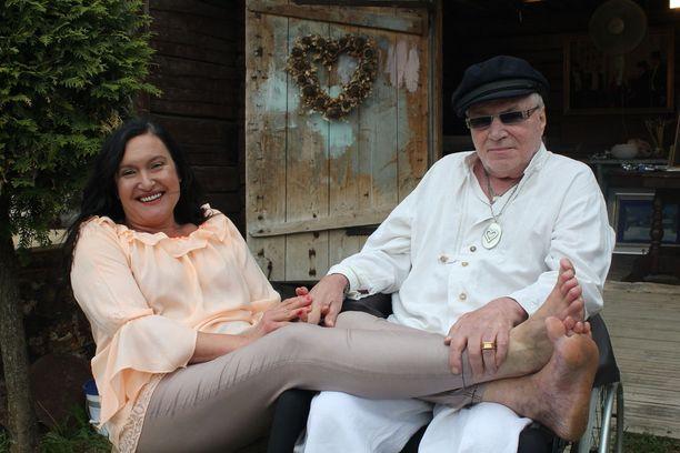 Juhani ja Leila Palmu ovat löytäneet Juhanin onnettomuuden jälkeen toisistaan uusia piirteitä.