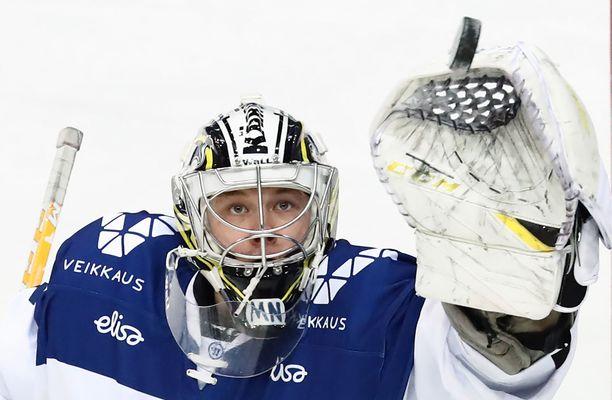 Veini Vehviläinen kuului Leijonien MM-kultajoukkueeseen.