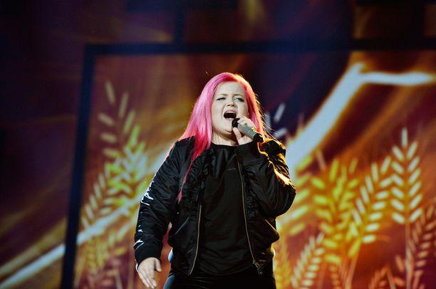 Alma Miettinen kisasi vuonna 2013 Idolsissa.