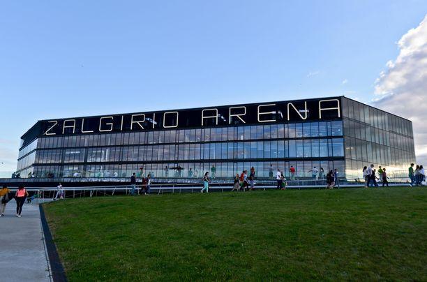 Kaupungin koripallojoukkueen ottelut Zalgirio Arenalla myydään täyteen.