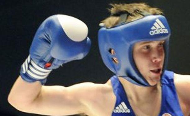 Matti Koota on toisen polven nyrkkeilijä.