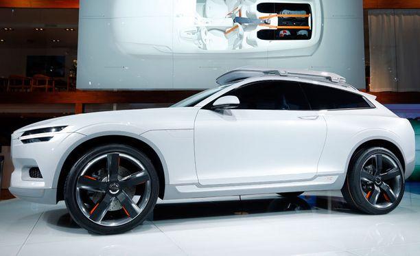Detroitissa nyt esitelty Volvo XC Coupe -konsepti ennakoi XC90:n tulevia piirteitä.