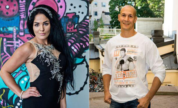 Nadia ja Amin Asikainen odottavat ensimmäistä lastaan.