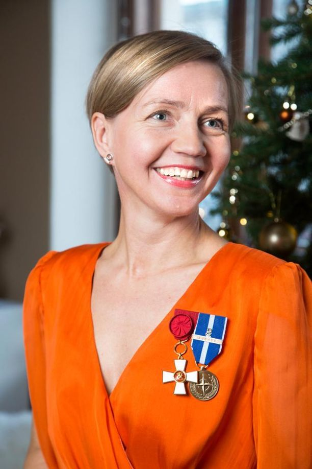Tiina Laisi-Puheloinen on ollut Linnan juhlissa useita kertoja aiemminkin.