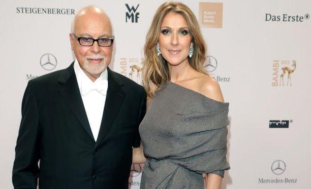 Céline Dionin aviomies nukkui pois torstaina.