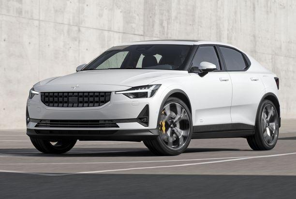 Polestar 2 on noin Tesla Model 3:n hintaluokkaan asettuva täyssähköauto.