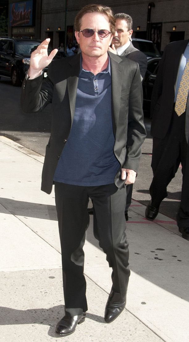 Michael J. Fox kärsii Parkinsonin taudista.