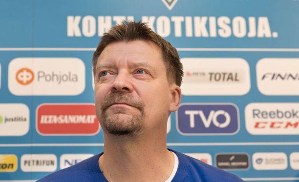 Jukka Jaloselle komennus Pikkuleijonien peräsimessä tuli hivenen yllättäen.