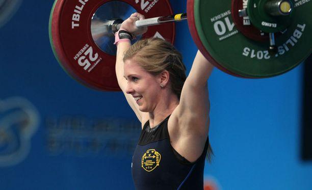 Carita Thorén (o.s Hansson) lopetti painnonnostouransa vain 25-vuotiaana.