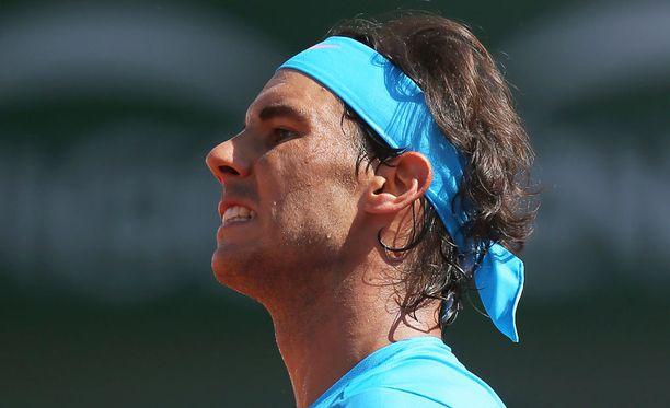 Rafael Nadal ei juhli tänä vuonna Ranskan avointen voittoa.