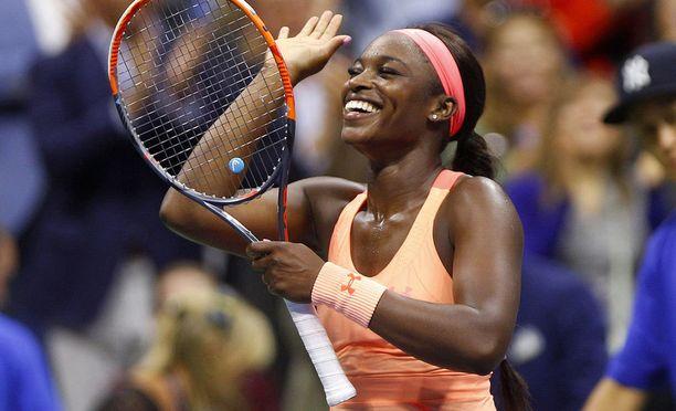 Sloane Stephens ylsi ensimmäistä kertaa urallaan Grand Slam -finaaliin.