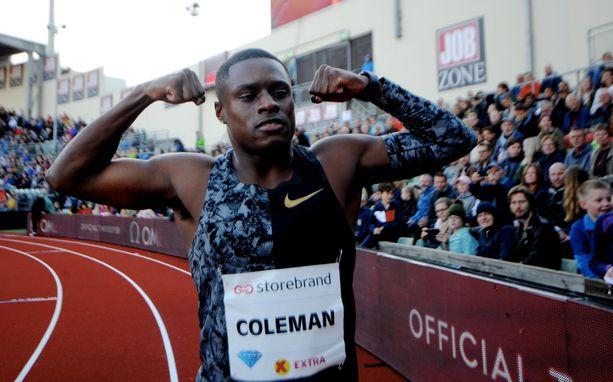 Christian Coleman saattaa olla suurissa vaikeuksissa.