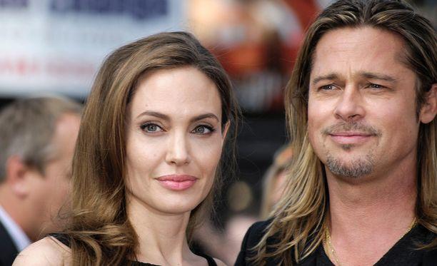 Angelina Jolie ja Brad Pitt ovat olleet vaitonaisia erostaan.