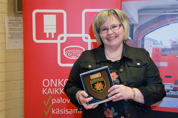 Minna Saarikoski on koulutukseltaan sairaanhoitaja, mutta työvuosista ensiavussa on jo aikaa.