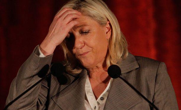 Marine Le Pen on yrittänyt irtautua isänsä maahanmuuttovastaisesta imagosta.