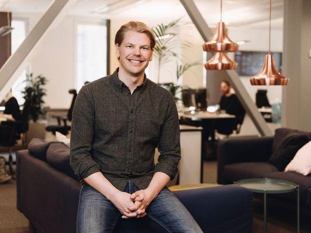 Erik Fjellborg keksi idean 15 vuotta sitten.