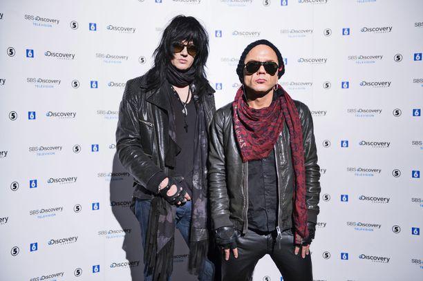 Kuvassa Jyrki69 ja Jussi69 vuonna 2014.