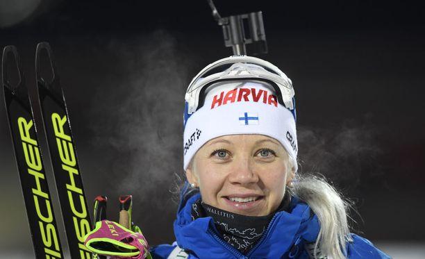 Kaisa Mäkäräinen sai mahtavan olympiakenraalin.