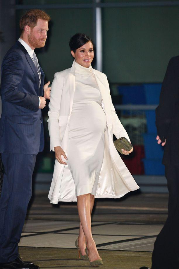 Herttuatar Meghan ja prinssi Harry saavat perheenlisäystä tänä keväänä.