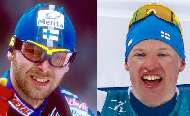 Iivo Niskasesta (oikealla) tuli helmikuussa Mika Myllylän manttelinperijä.