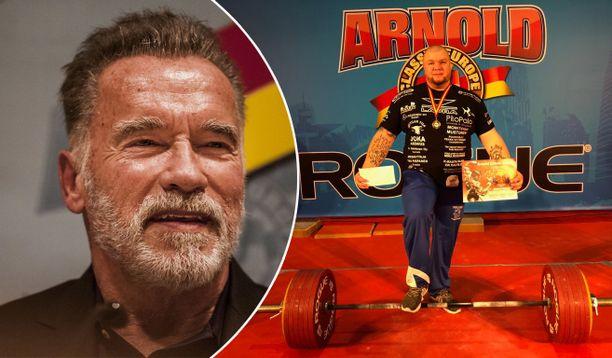 Arnold Schwarzeneggerin nimikkokilpailuja järjestetään ympäri maailmaa. Jari Saarion mukaan niissä on aina kova taso.