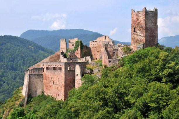 Château de Saint-Ulrichin asukkaat muuttivat ajanmukaisempaan kartanoon.