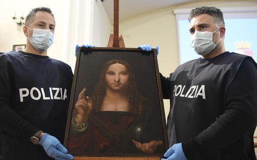 Poliisi löysi varastetun da Vincin maalauksen kakkosversion, jonka katoamista museo ei ollut edes huomannut